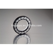 Plastic Material and ABS Plastic Type Curtain Eyelet Rings